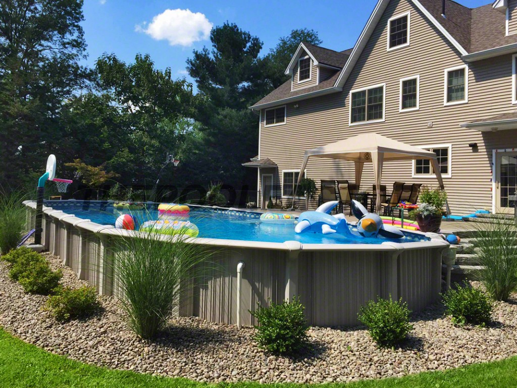 landscaping ideas around above ground pool above ground pool landscaping design WLKIOWI