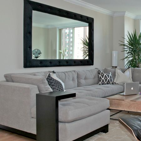 large decorative mirrors for living room 4 guidelines to using mirrors as the focal point of XJYASDS