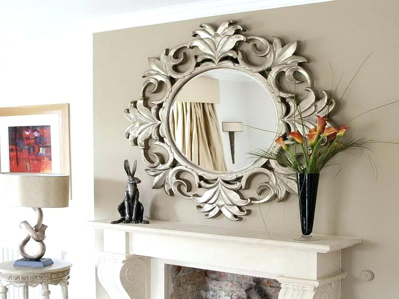 large decorative mirrors for living room large fancy mirrors large decor mirror decorative mirrors for living AOUJRQZ