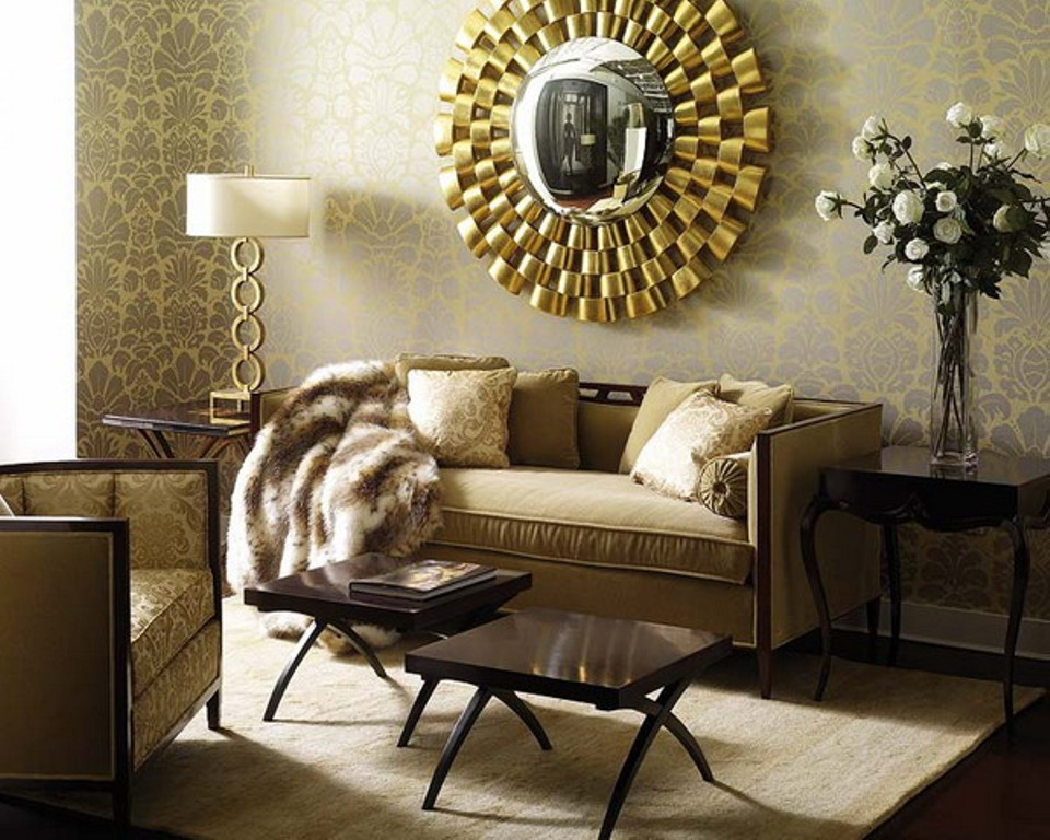 large decorative mirrors for living room RQBXSAC