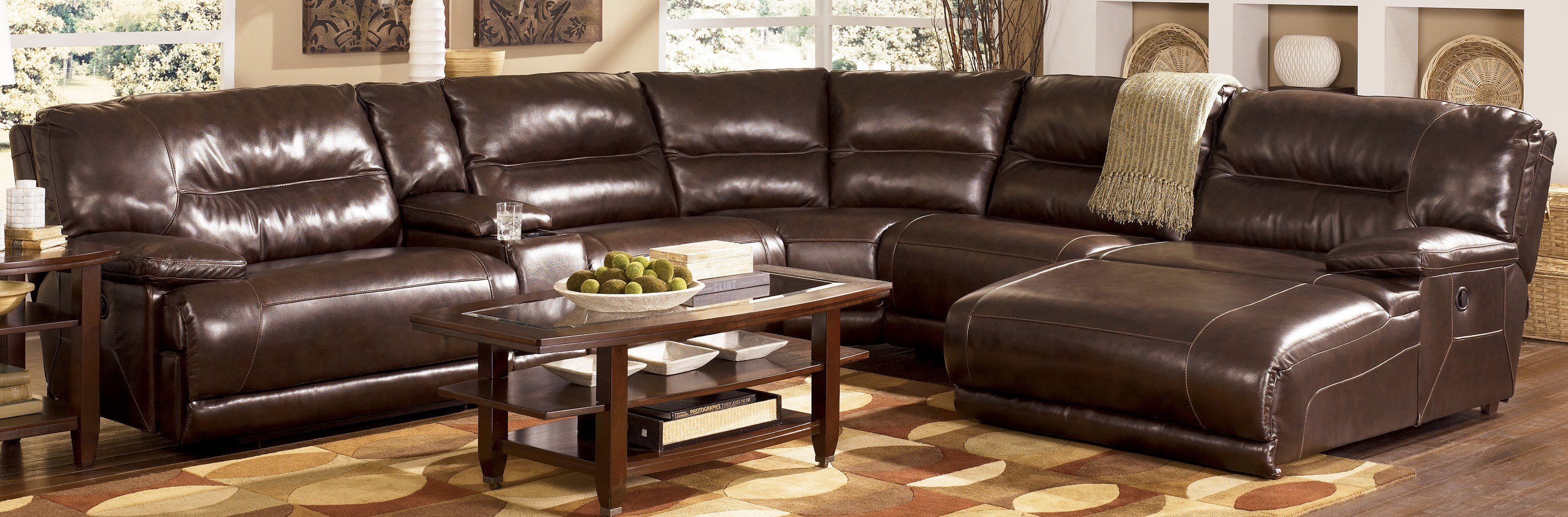 leather sectional sofa with chaise and recliner archaicawful sectional reclining sofa image concepte recliner inside leather WISAMXL