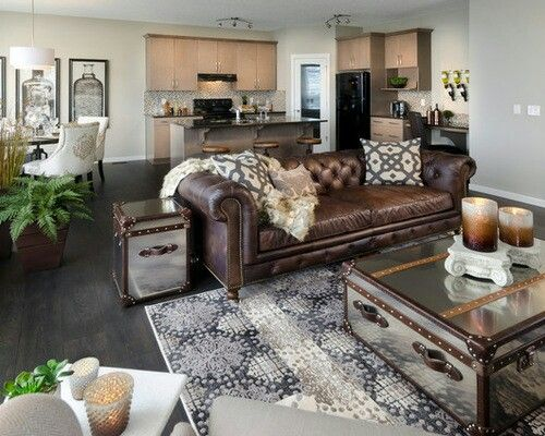 Living Room Ideas With Leather Furniture: TOP 3 Ideas to Consider