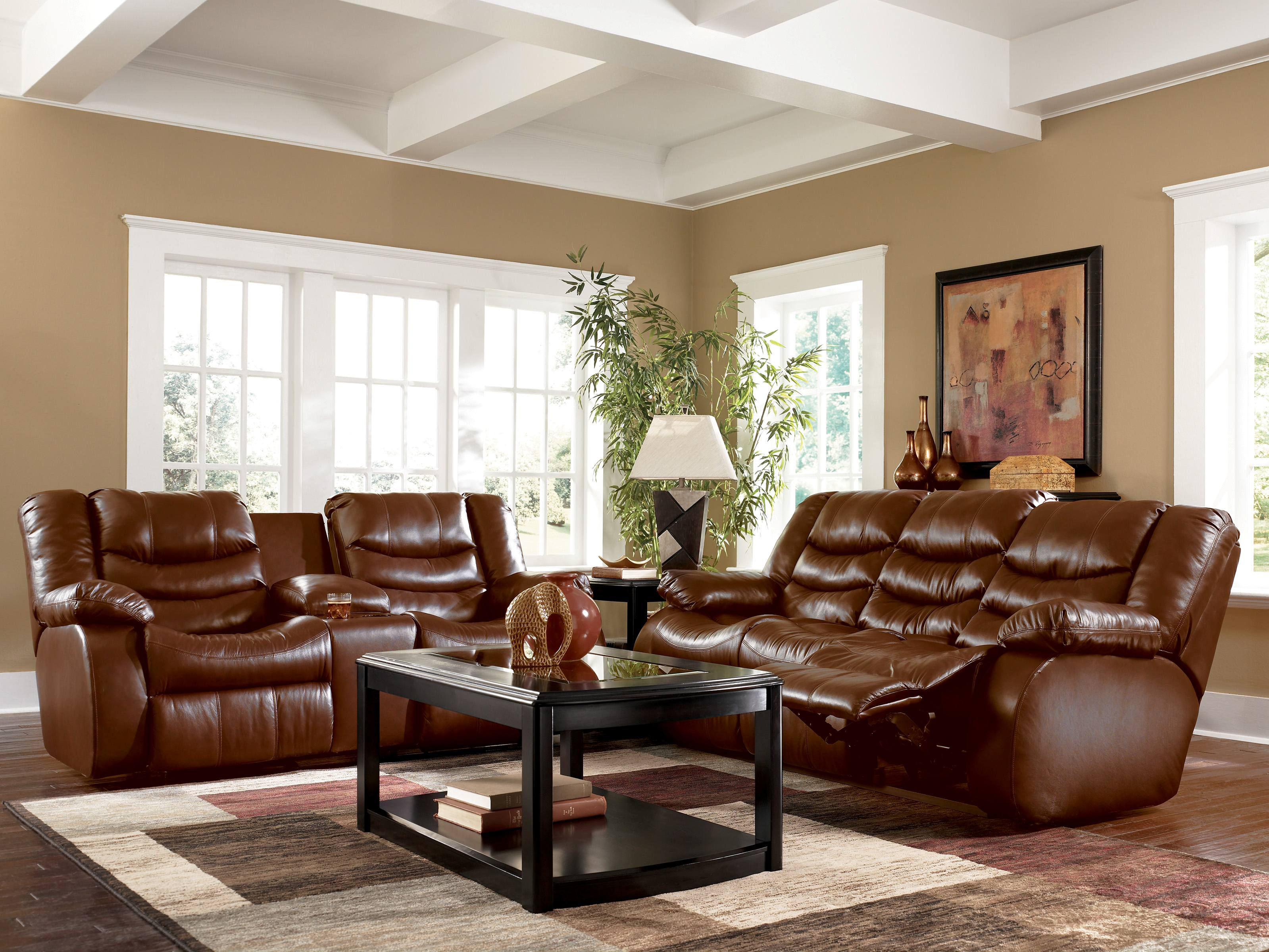 living room ideas with leather furniture furniture charming light brown leather sofa decorating ideas brown from GVMNFSE