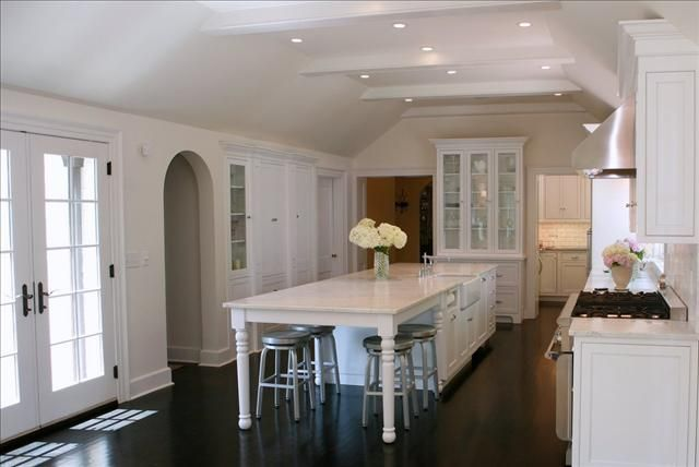 long narrow kitchen island with seating kitchen island with seating at the end long skinny kitchen OYJIYTQ