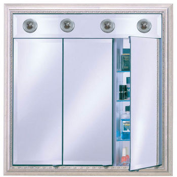 medicine cabinet with mirror and lights afina signature collection 34 TOKPJRD