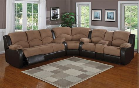 microfiber sectional couch with recliner microfiber sectional sofa with chaise and recliner tedx FBCLNZR