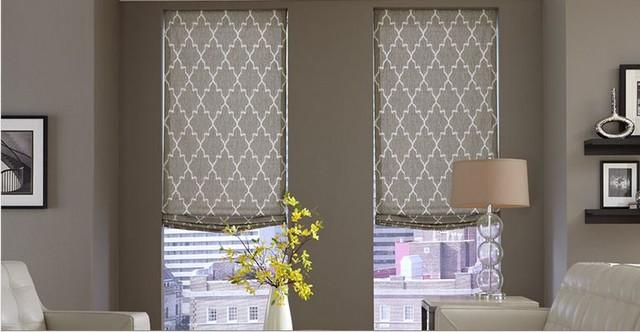 modern window treatments for living room modern window treatments- 3 day blinds- living room modern-living-room TFKWPOL