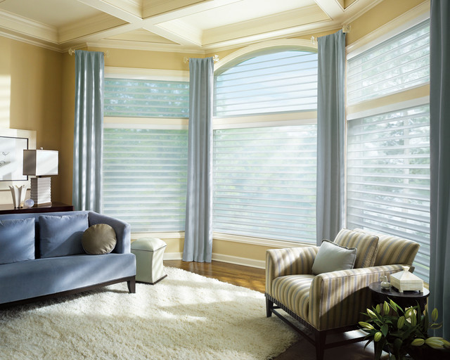 modern window treatments for living room window coverings contemporary-living-room YFFPUMT
