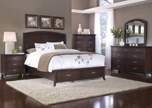 paint colors for bedroom with dark furniture paint colors with dark wood furniture | wall paint colors PJIIHZC