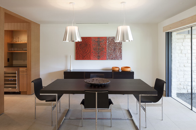 pendant lighting over dining room table chimney corners remodel modern-dining-room AHAZPMG