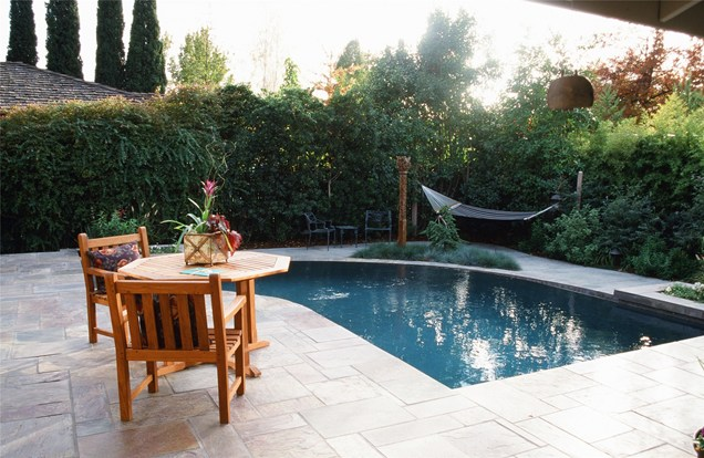 pool landscaping ideas for small backyards small backyard pool landscaping ideas impressive with photo of small DSUMNJV