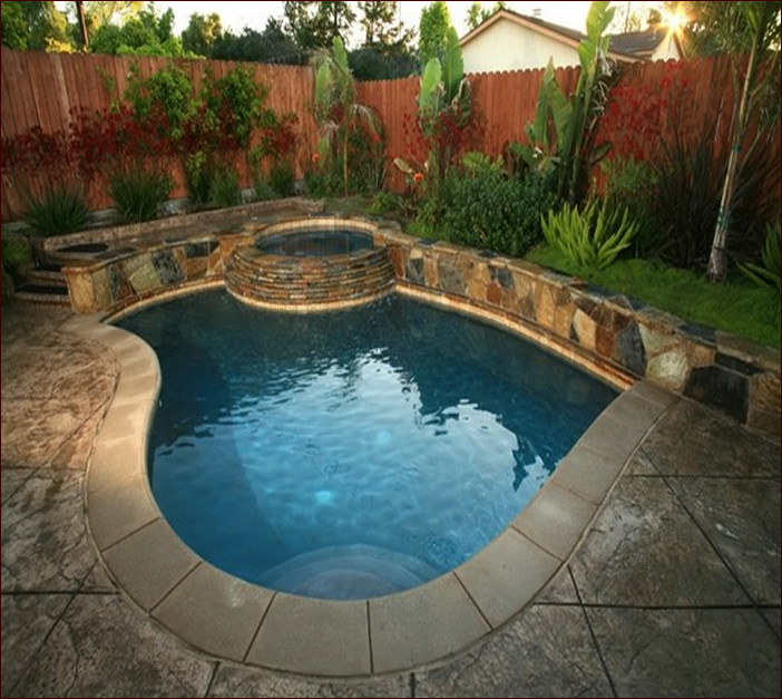 pool landscaping ideas for small backyards stunning small backyard with pool landscaping ideas small backyard pool VOQLJLG