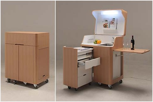 portable kitchen cabinets for small apartments » space saving furniture FTSNZFT