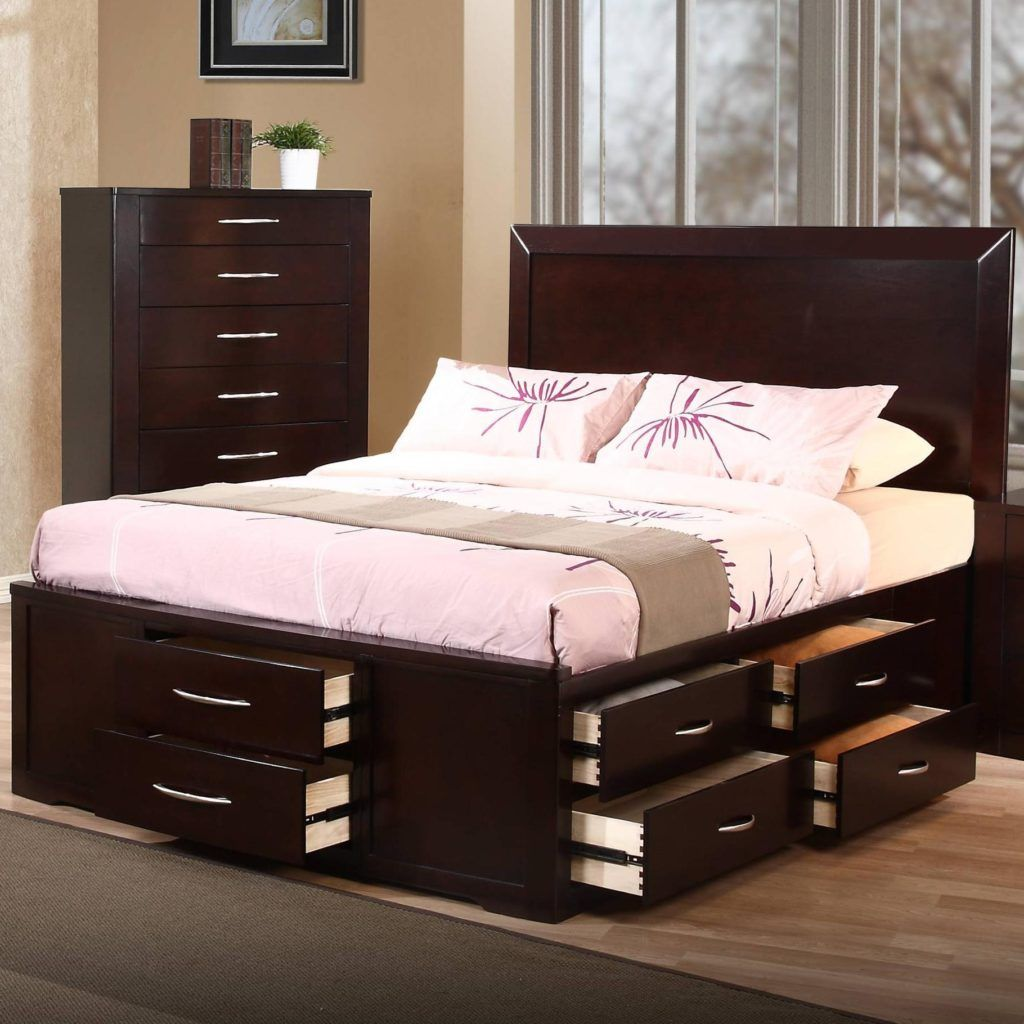 Queen Size Bed Frame With Drawers Underneath: Why They're Important
