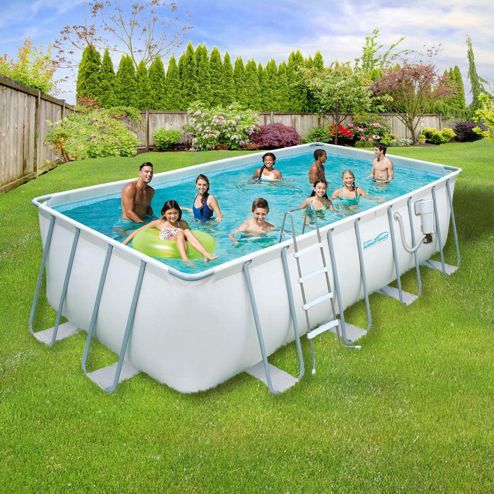 Rectangular Above Ground Swimming Pools VS Classic Pools