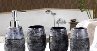 Rustic bathroom decor sets beautiful solemn bathroom set rustic bathroom accessories sets wedding gift  soap YVAYYSP