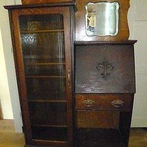 secretary desk antiq antique drop front secretary desk with bookcase epic  bookcase LITMBRH