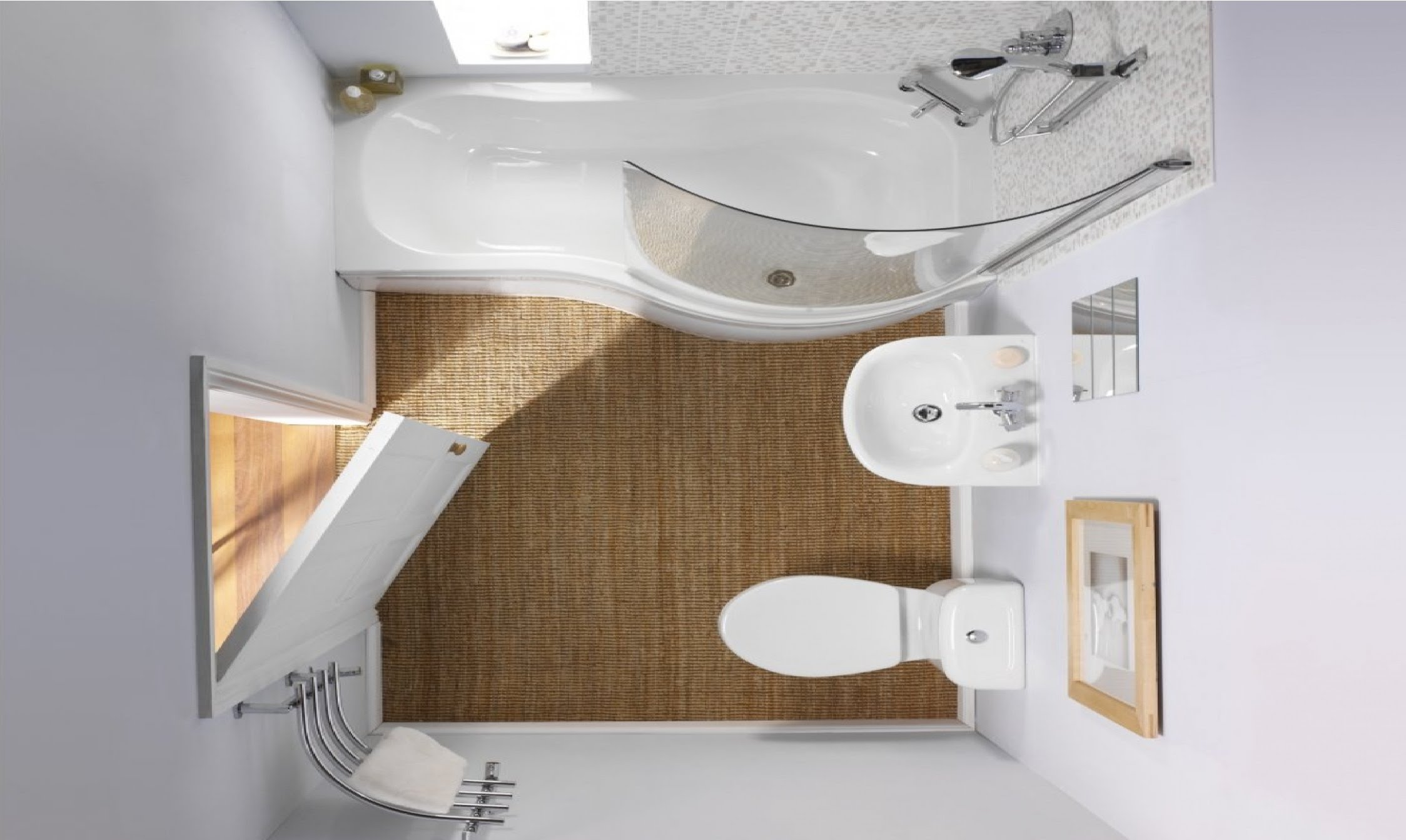 simple bathroom designs for small spaces small bathroom design ideas - room ideas - youtube OVDYLMF