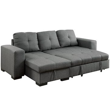 sleeper sectional sofa for small spaces three-piece sectional sofas GVIZXFY