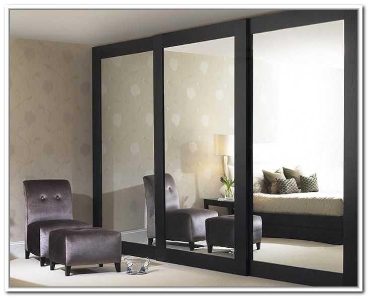Beautiful Sliding Mirror Closet Doors for Bedrooms