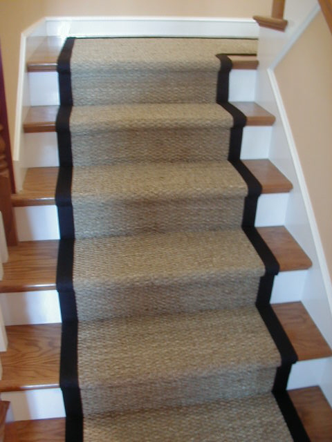 stair runners by the foot things that inspire sisal stair runners intended for by the foot HNYFPCT