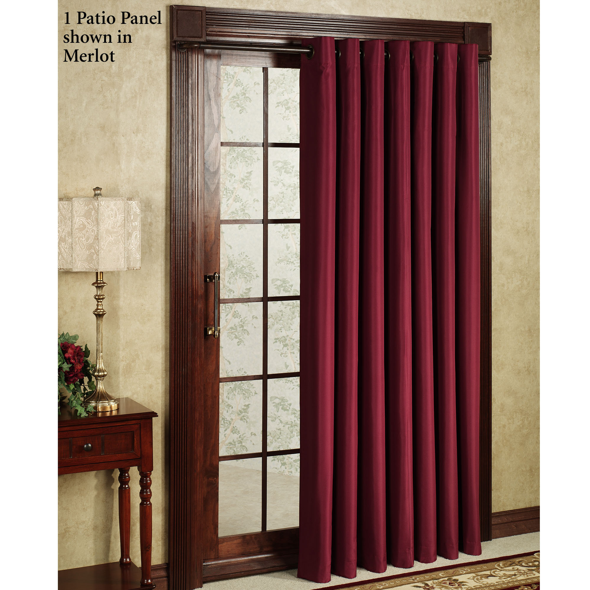thermal curtains for sliding glass doors ... curtain design, lovely sliding patio door curtains door 7 ISECDDL