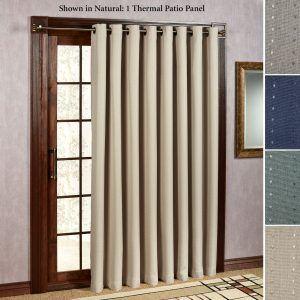 thermal curtains for sliding glass doors thermal lined curtains for sliding glass doors | sliding door BTDVQFJ