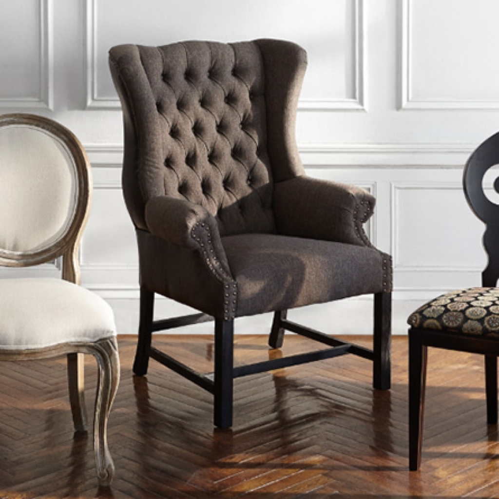 upholstered dining room chairs with arms FLFPEFY