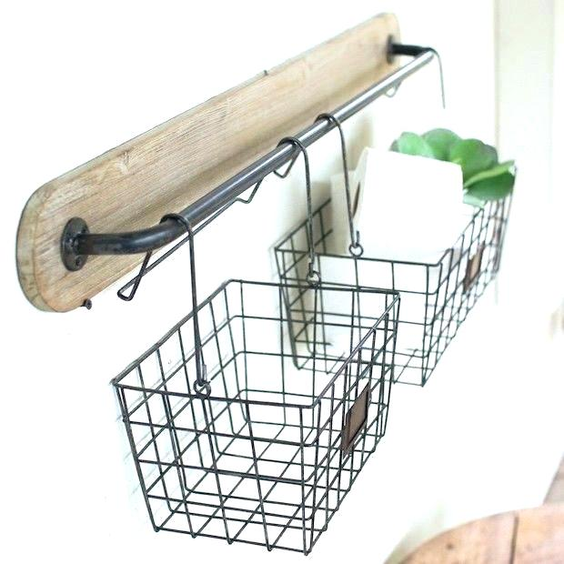 wall hanging baskets for bathroom storage bathroom hanging baskets hanging baskets on wall wall hanging fruit WXCGWSQ