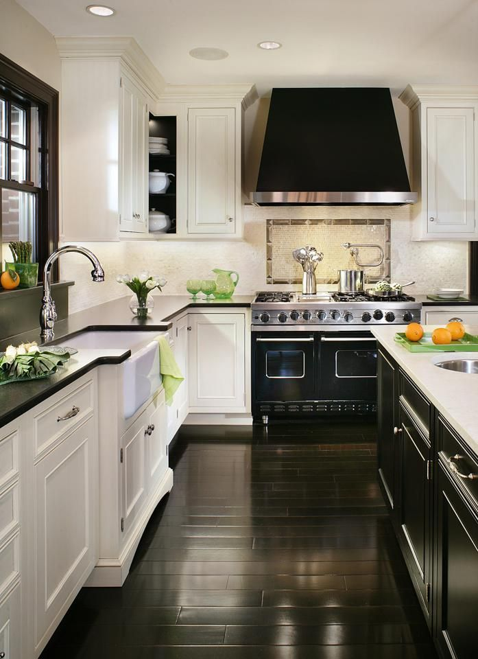 white kitchen cabinets with dark wood floors 30 spectacular white kitchens with dark wood floors | kitchen METMINR