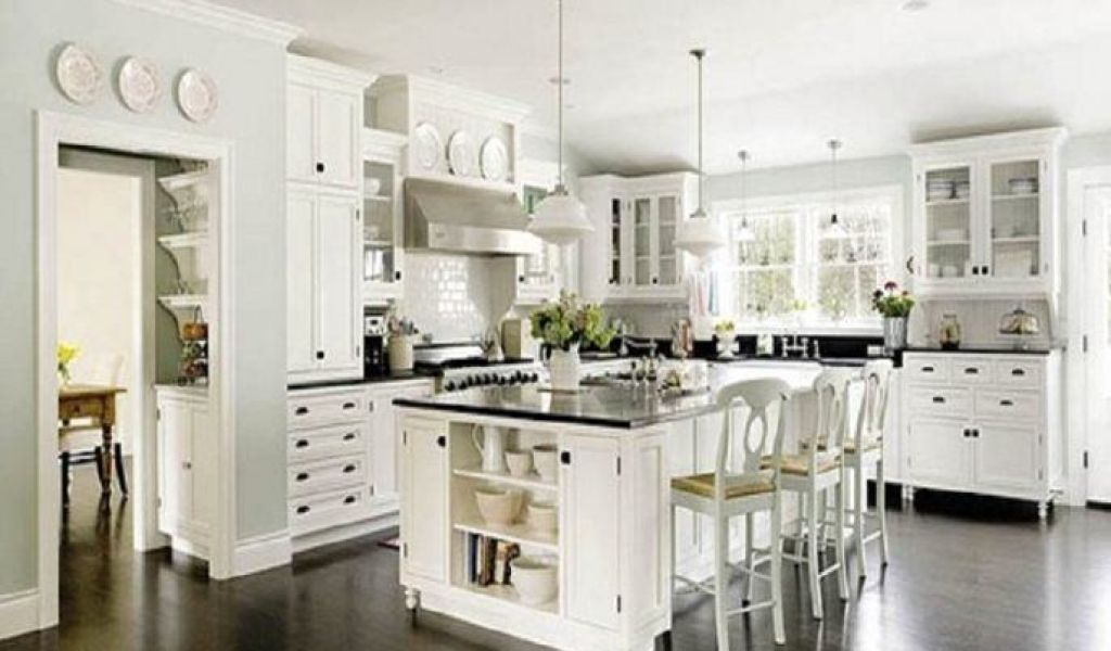 white kitchen cabinets with dark wood floors ... white kitchen cabinets and dark wood floors awesome dark PXDUHOS