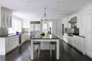 white kitchen cabinets with dark wood floors white kitchen cabinets dark wood floors ZBKONJA