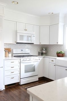white kitchen cabinets with white appliances best color for kitchen cabinets with white appliances ideas | XUVAASB
