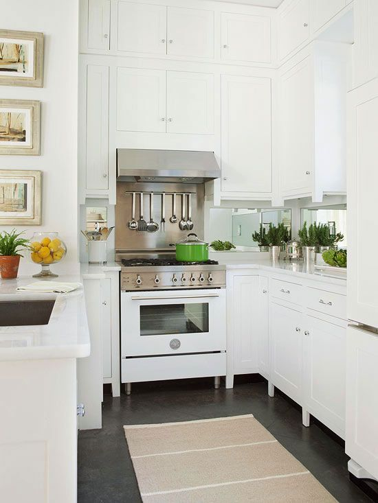 white kitchen cabinets with white appliances yay for white appliances! love this classic trend. TBMVMZS