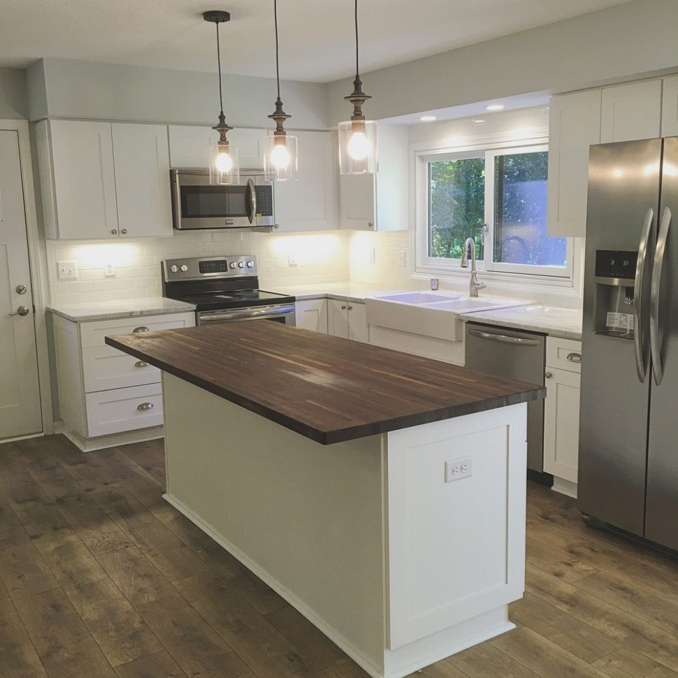 white kitchen island with butcher block top magnificent beautiful countertop FMHOWMO