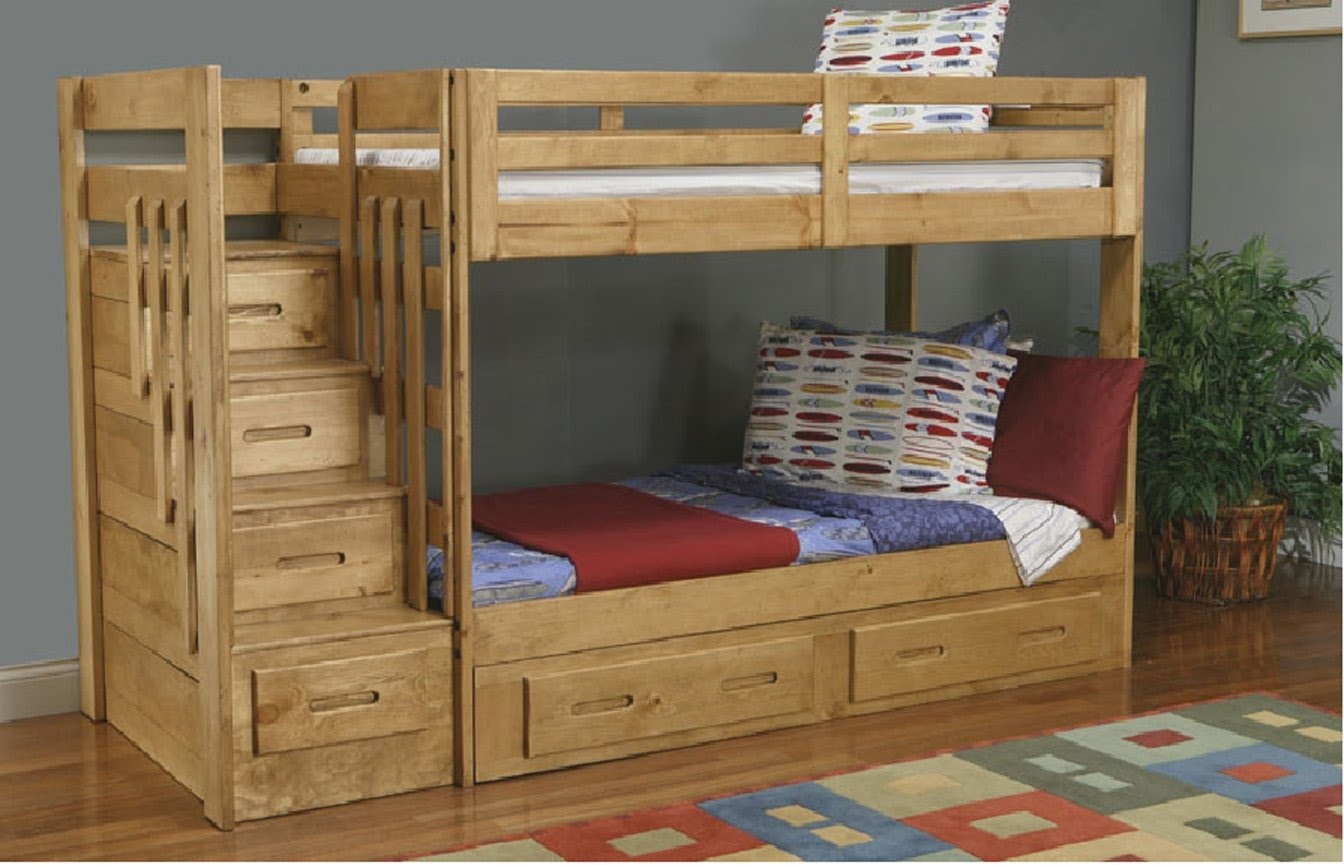wooden bunk beds with stairs and drawers bunk bed with stairs | build bunk bed with stairs EIXWLTA