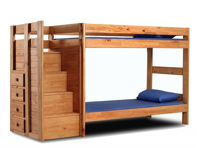wooden bunk beds with stairs and drawers bunk beds with stairs and drawers ADWHRYK