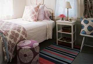 runner rug next to bed photo by patrick cline / lonny magazine WWVPYNN