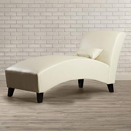 Amazon.com: Contemporary Chaise Lounge Chair - Living Room Furniture