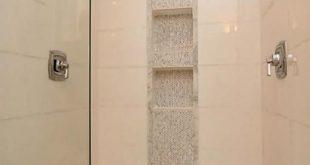 vertical shower accent tile ideas - Google Search | Master Bath