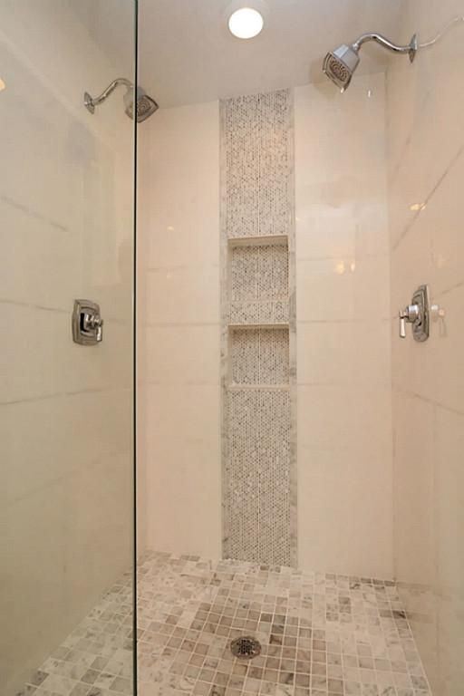 vertical shower accent tile ideas - Google Search | Master Bath