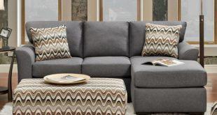 Affordable Furniture Cosmopolitan Grey Sectional Sofa 3900 | Savvy