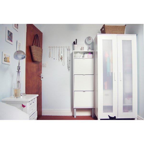 Aneboda Wardrobe (White) - Furniture Source Philippines
