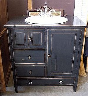 Antique Bathroom Vanity - Choose Genuine Or Reproduction