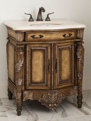 Antique Bathroom Vanities For Elegant Homes
