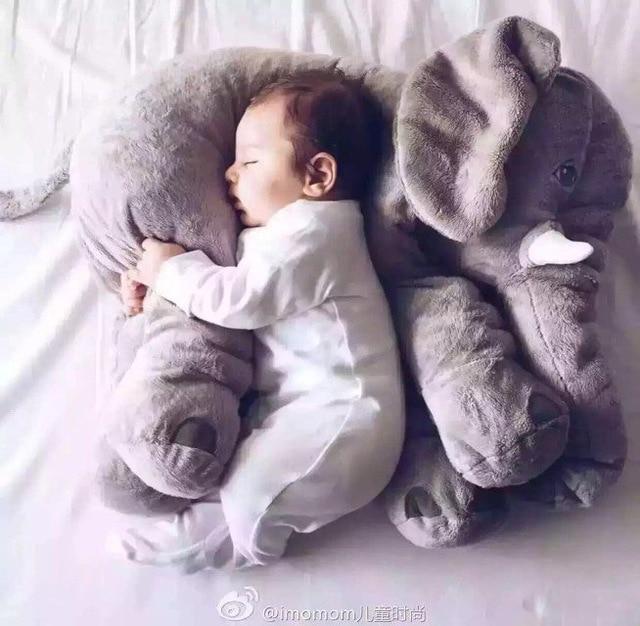 New Arrival Super Soft Stuffed Elephant Baby Comforter Plush Animal