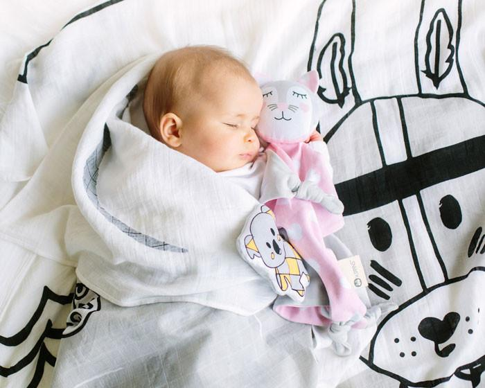 Introducing a Baby Comforter as a Sleep Aid | Kippins