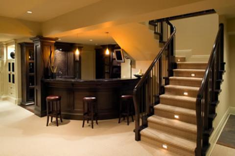Basement Ideas, Designs & Pictures | Basement Decorating