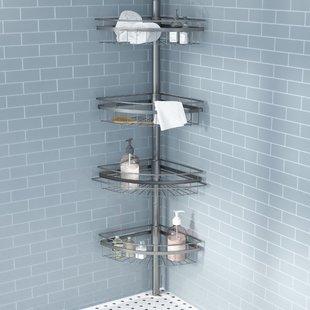 Floor Shower Caddy | Wayfair