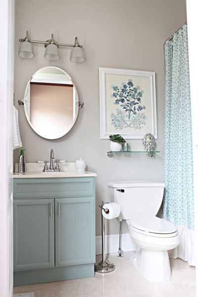 13 Pretty Small-Bathroom Decorating Ideas You'll Want to Copy